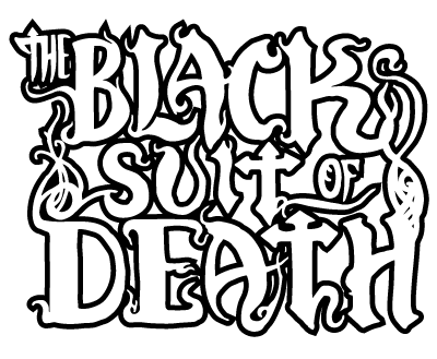 independent ic book series black suit of death Suit Red black suit of death logo