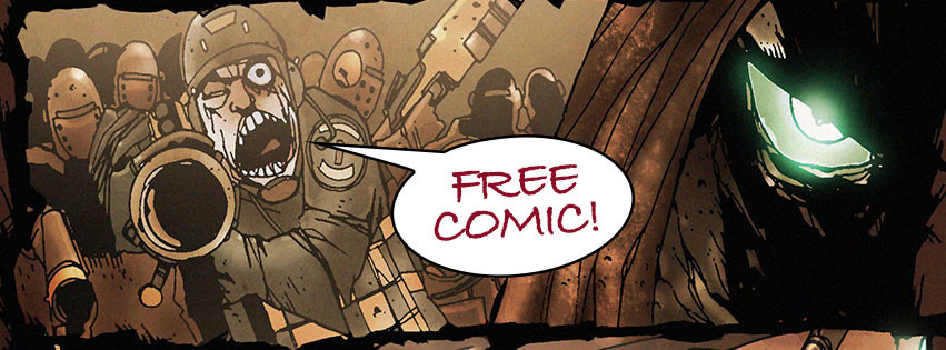 Subscribe and get a free comic.